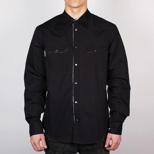 Рубашка MEDOOZA APPAREL Crow (Black, XL) толстовка medooza back in black ii черный xl