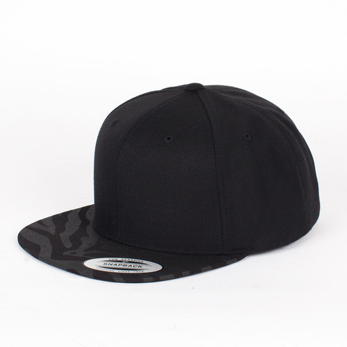 Бейсболка YUPOONG Animal Tone in Tone Snapback (Black-Zebra-Black, O/S) wiben zebra simulation animal model action