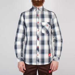 Рубашка SKILLS Check Shirt Grey фото