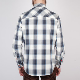 Рубашка SKILLS Check Shirt Grey фото 2