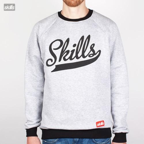 все цены на Толстовка SKILLS Script Logo (Grey-Black, L) онлайн