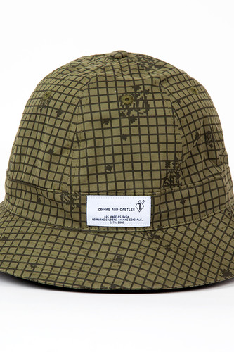 Панама CROOKS & CASTLES Enforcer Bucket Hat (Military Multi, L/XL)