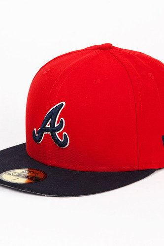 Бейсболка NEW ERA MLB Team Reverse Atlbra (Red, 7)