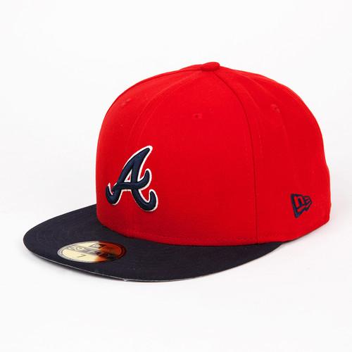 Бейсболка NEW ERA MLB Team Reverse Atlbra (Red, 7)