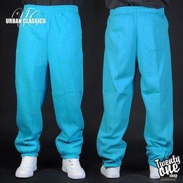 Брюки URBAN CLASSICS Sweatpants Aqua фото