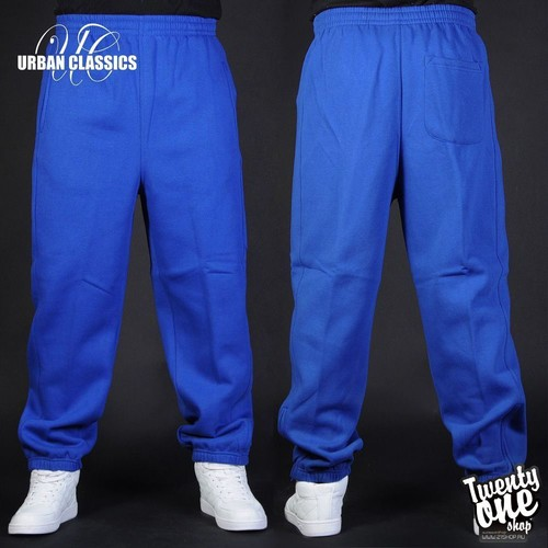 Брюки URBAN CLASSICS Sweatpants (Royal, S) брюки urban classics straight fit sweatpants white xs