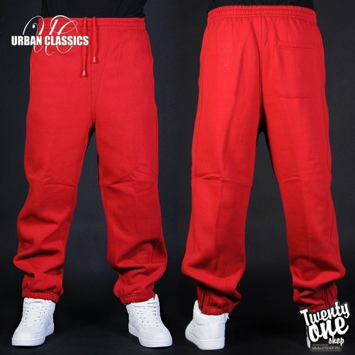 Брюки URBAN CLASSICS Sweatpants Red фото 5
