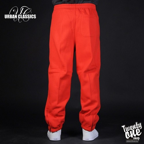 Брюки URBAN CLASSICS Sweatpants Red фото 7