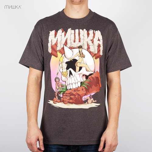 Футболка MISHKA Earth Bc T-Shirt (Brown-Heather, XL) leon malin lena prosecutor russian story