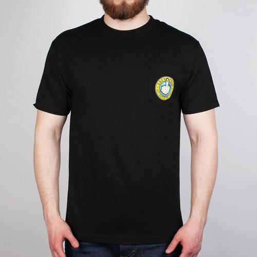 Футболка OBEY Go Away (Black, XL) футболка obey youth crew black xl