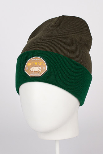 Шапка TRUESPIN Nice To Meat You_Classic Beanie (Olive/Green) chaos шапка jorts 084 olive