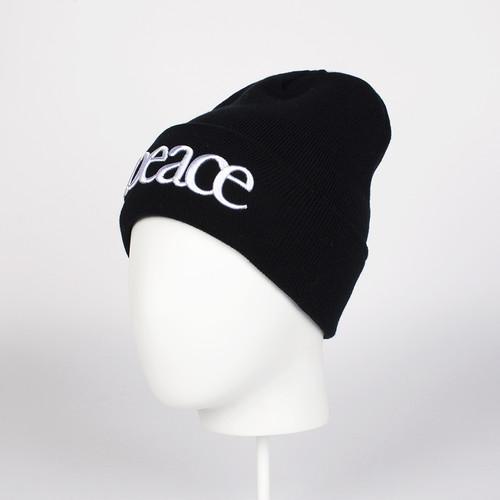 цена на Шапка TRUESPIN Peace Beanie (Black)