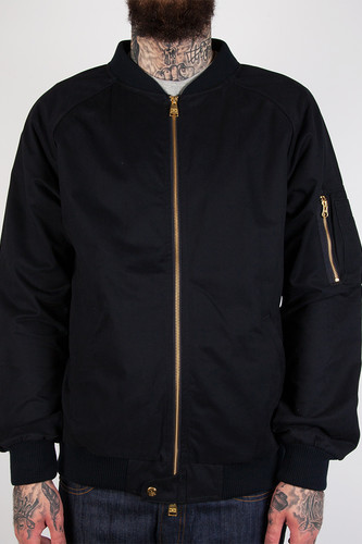 Куртка CROOKS & CASTLES Maverick Bomber Jacket (True Navy, 2XL)