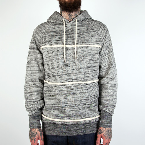 Толстовка CROOKS & CASTLES Takeshi Hooded Pullover (Heather Grey, 2XL) grey embroidered pullover sports hoodies