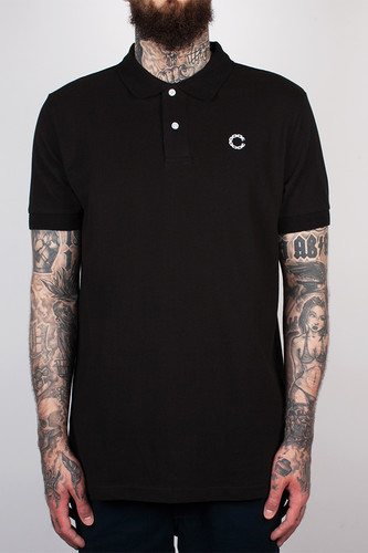 Поло CROOKS & CASTLES - Regal S/S Polo Top (Black, 3XL)