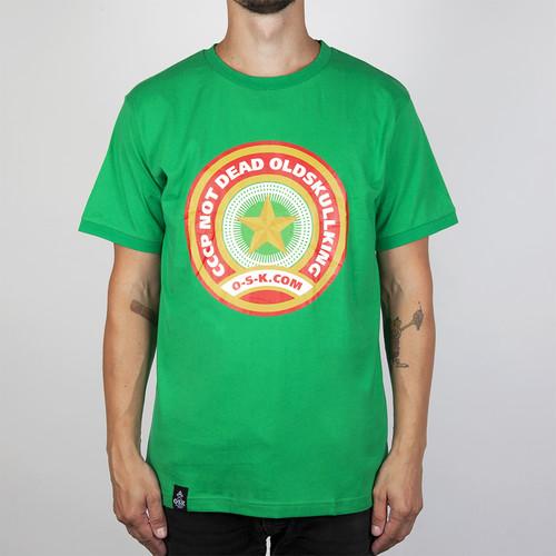 Футболка OSK Звездочка (Зеленый, XL)