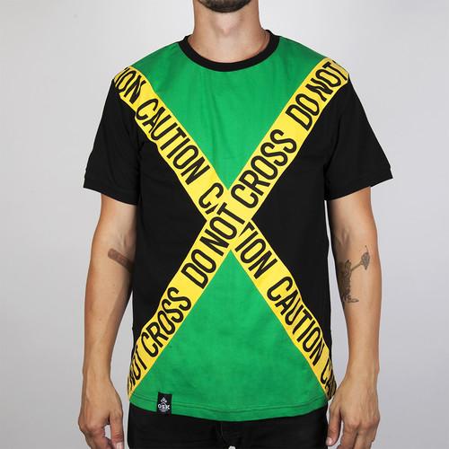 Футболка OSK Ямайка Ганс (Зеленый, XL)