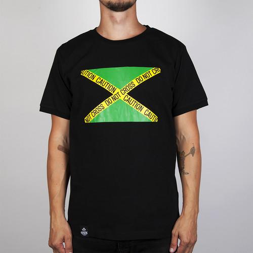 Футболка OSK Ямайка Флаг (Черный, XL) цена