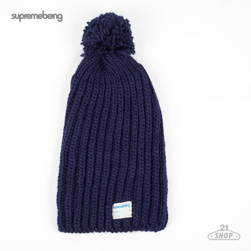 Шапка SUPREMEBEING Mullet FW12 (Navy) толстовка supremebeing corrode washed navy m