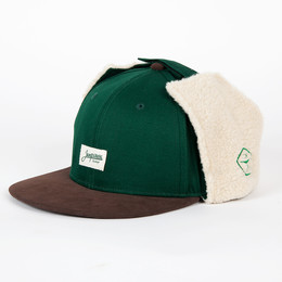 Бейсболка ЗАПОРОЖЕЦ Dog-Ears Snapback Patch Green фото
