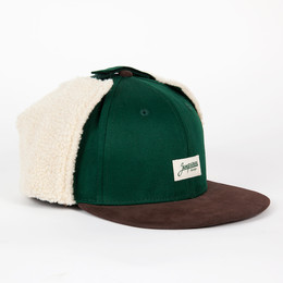 Бейсболка ЗАПОРОЖЕЦ Dog-Ears Snapback Patch Green фото 2