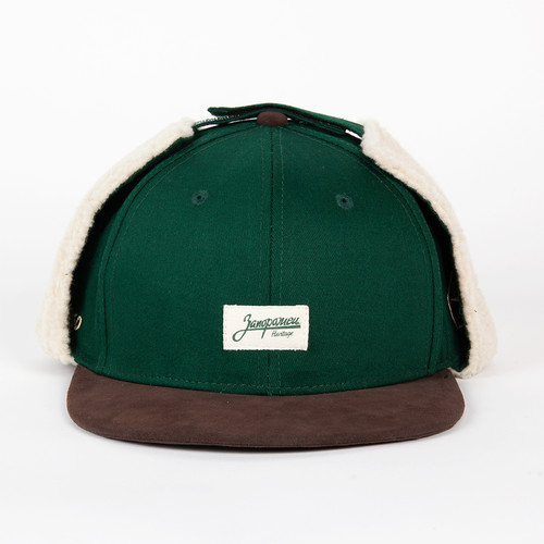 Бейсболка ЗАПОРОЖЕЦ Dog-Ears Snapback Patch Green фото 13