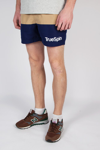 Шорты TRUESPIN Swimming Shorts Splash Two (Beige/Navy, XS)