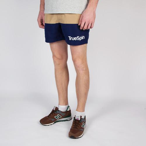 Шорты TRUESPIN Swimming Shorts Splash Two (Beige/Navy, XS) шорты пляжные truespin swimming shorts splash two beige orange