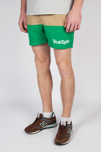 Шорты TRUESPIN Swimming Shorts Splash Two (Beige/Green, XS)
