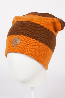 Шапка MAZINE Zero Beanie Pumpkin/Simian Brown 12532 фото