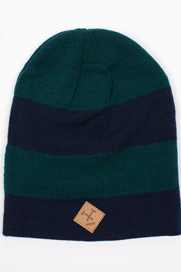 Шапка MAZINE Zero Beanie Navy/Fir Tree 12517 фото 2