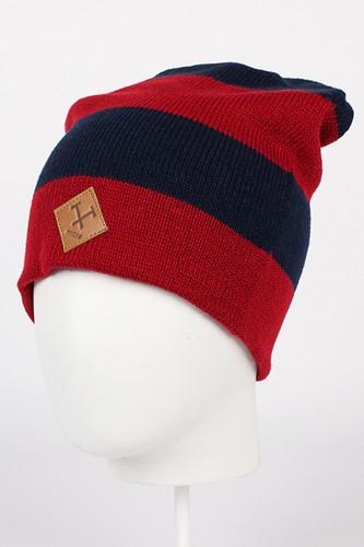 Шапка MAZINE Zero Beanie (Jester Red/Navy-12483) шапка nixon smoky beanie red paper