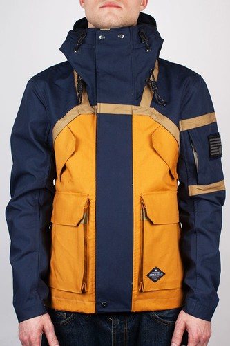 Фото - Куртка KRAKATAU Testosterone (Темно-Синий/Песочный-1, L) куртка женская trussardi цвет темно синий 36s00158 blue night размер l 46 48