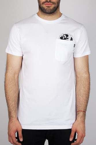 футболка ziq Футболка ZIQ & YONI 5th Camo Pocket (Белый, XL)