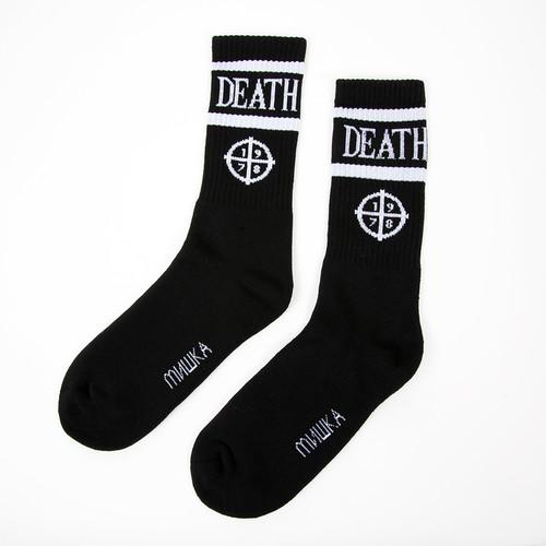 лучшая цена Носки MISHKA Target Ritual Socks (Black, O/S)