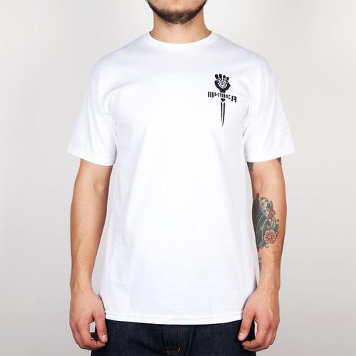 Футболка MISHKA Cyrillic Gonzo Tee (White, M) футболка mishka paralyzed tee black m