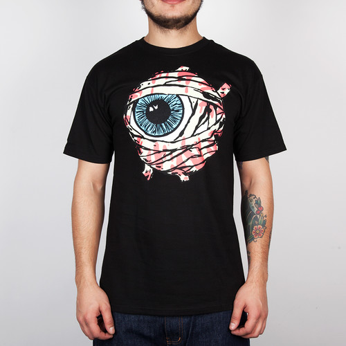 Футболка MISHKA Gazin Mummy Keep Watch Tee (Black, L) футболка mishka davy jones locker white l
