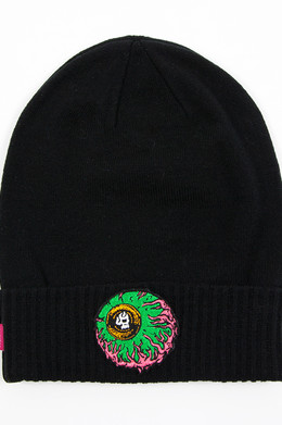Шапка MISHKA Lamour Keep Watch Beanie Black фото 2