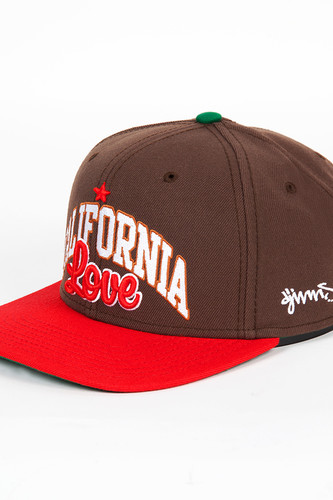 Бейсболка DJINNS 6P Snapback California (Brown, O/S)