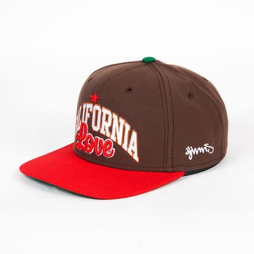Бейсболка DJINNS 6P Snapback California (Brown, O/S)