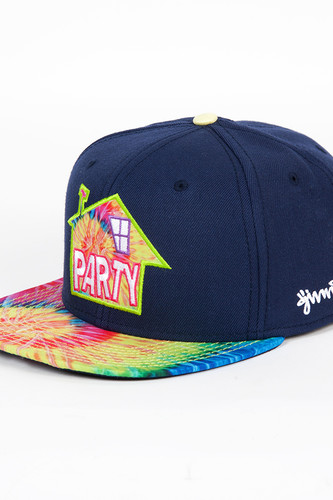 Бейсболка DJINNS 6P Snapback House Party (Navy, O/S)