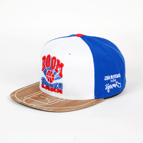 Бейсболка DJINNS 6P Snapback Shaka Laka (White, O/S) shaka ponk toulouse