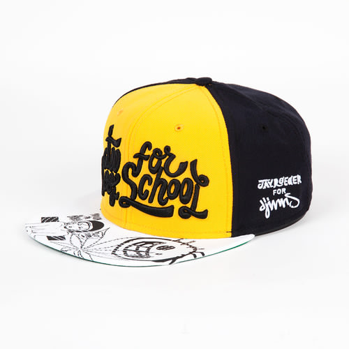 Бейсболка DJINNS 6P Snapback Too Cool (Yellow, O/S)