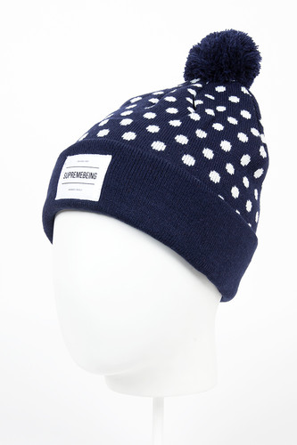 Шапка SUPREMEBEING London Hat (Navy-9548) цена