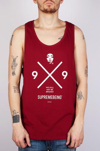 Майка SUPREMEBEING Knox Vest (Burgundy-9046, 2XL) цены онлайн