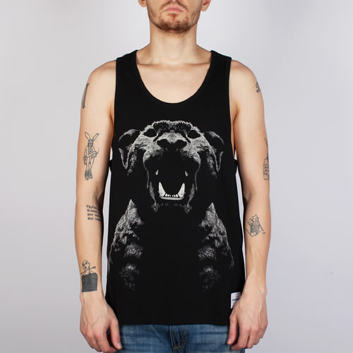 лучшая цена Майка SUPREMEBEING Pantera Noir Vest (Black-9040, S)