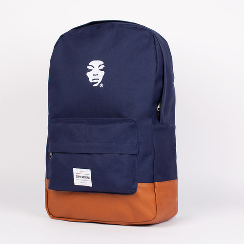 Рюкзак SUPREMEBEING Icon Bag SS14 (Navy-9072) толстовка supremebeing corrode washed navy m