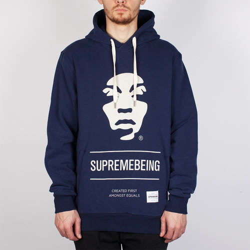 Толстовка SUPREMEBEING Iconoclast Hood SS14 (Navy-8852, XS) толстовка supremebeing corrode washed navy m