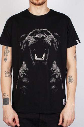 Футболка SUPREMEBEING Pantera Noir Ss14 (Black-8901, XL) толстовка supremebeing colours crew black 9643 xl