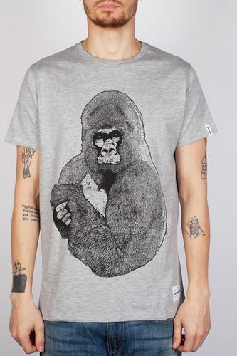 Футболка SUPREMEBEING Silver Gorilla (Heather-9051, 2XL) футболка supremebeing dakar heather 9010 l